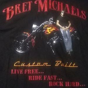 BRETT MICHAELS TOUR TSHIRT XXL